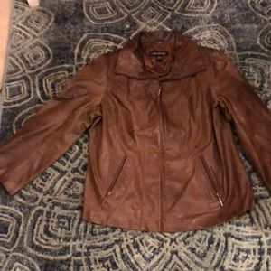 Lane Bryant leather jacket